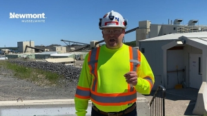 Musselwhite Mine General Manager, Don Burke