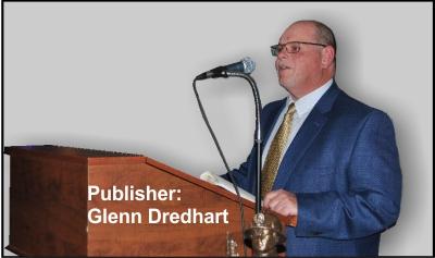 Publisher Glenn Dredhart