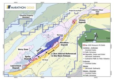 Marathon Gold map picture