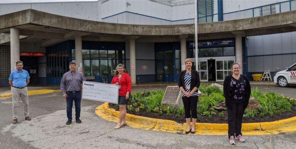Newmont donates to Tmmins Hospital